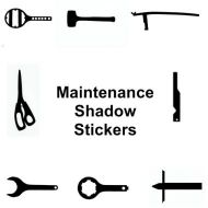Maintenance Shadow Stickers