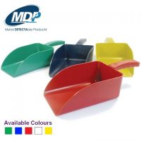 Metal Detectable Colour Hand Scoops