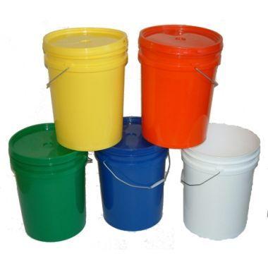 Coloured Food Pails / Buckets 20L