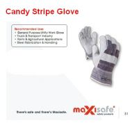 Candy Stripe Glove