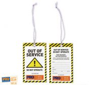 All Weather Safety Tags Caution