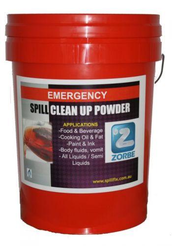 Zorbe  indoor spill clean up powder