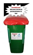 Free Audit cover with any 120 litre wheelie bin spill kit