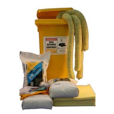 120Ltr Hazchem Wheelie Bin Spill Kit