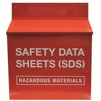 Material Safety Data Sheet Storage Box Storgae Station